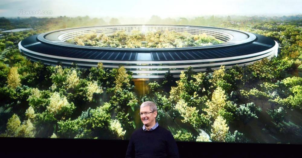 Apple galvenā mītne sagādā īstas galvas sāpes apmeklētājiem un darbiniekiem