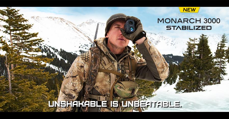 Nikon klāstu papildina lāzera tālmērs MONARCH 3000 STABILIZED