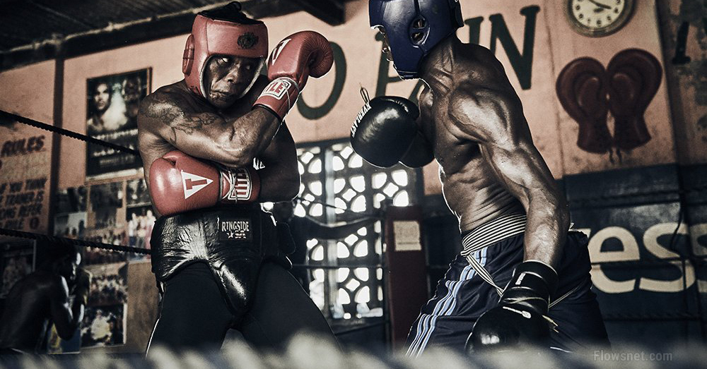Nikon sūtnis Rejs Demskis fotografē Bukomas bokseru brutālo romantiku